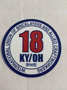 Lo. 18 OH-KY Sticker