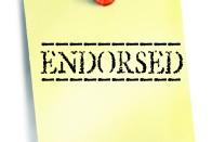 Endorsed