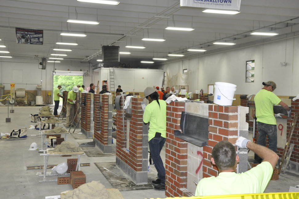 The North Central Region of BAC apprentices proved their dedication to their training and chosen trade during the 2015 Bricklayers and Allied Craftworkers/International Masonry Institute Regional Apprentice Contest.