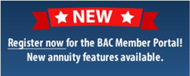 BAC Save Web Portal