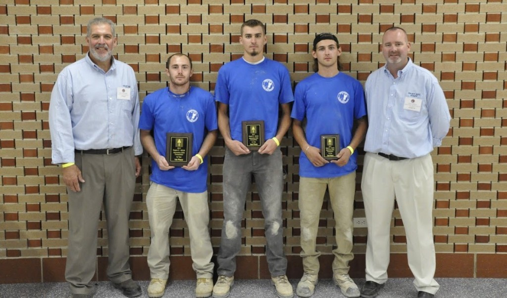 From left to right: Director Ken Kudela, 1st Place - Mitch Kittenger (SORTC), 2nd Place - Colton Moore (NORTC), 3rd Place - Bryce Eyre (Michigan), & Secretary/Treasurer Don Huss