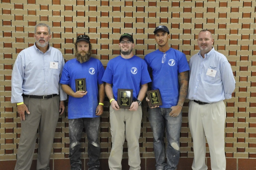 From left to right:  Director Ken Kudela, 1st Place - Charlie Coburn (Michigan), 2nd Place - Isaac Williams (Michigan), 3rd Place - Eric Six (SORTC), & Secretary/Treasurer Don Huss